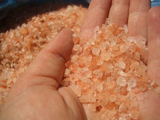 ヒマラヤ岩塩ピンク2-5mm20150521