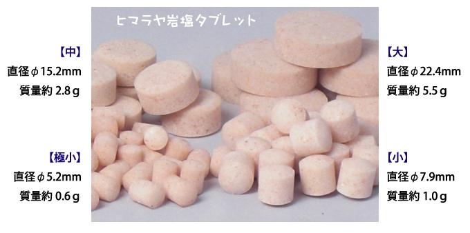ヒマラヤ岩塩タブレット